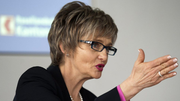 BLKB-Bankratspräsidentin Elisabeth Schirmer