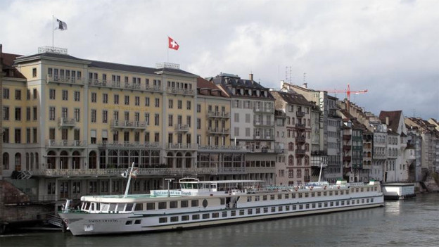 Beliebt: Kreuzfahrt-Schiffe auf dem Rhein
