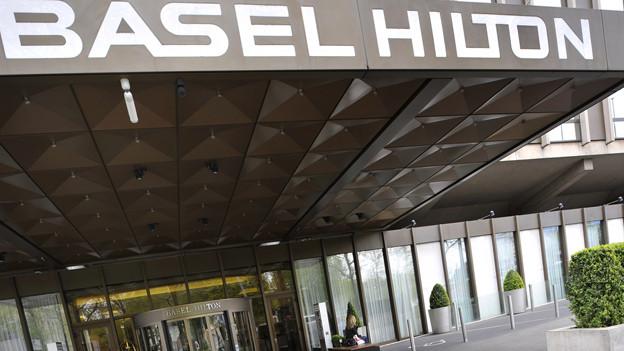 Bald Vergangenheit: das Hotel Hilton in Basel
