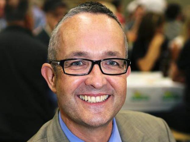 Thomas Weber, Regierungskandidat der SVP.