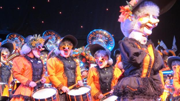 Fasnachtsmusik überzeugt am Charivari 2013.