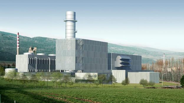 Geplantes Gaskombikraftwerk in Neuenburg