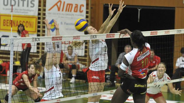 Volleyballerinnen von Sm'Aesch-Pfeffingen stehen unter Druck