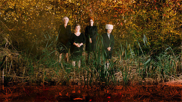 Les Reines prochaines lancieren in Basel das Album «Blut»