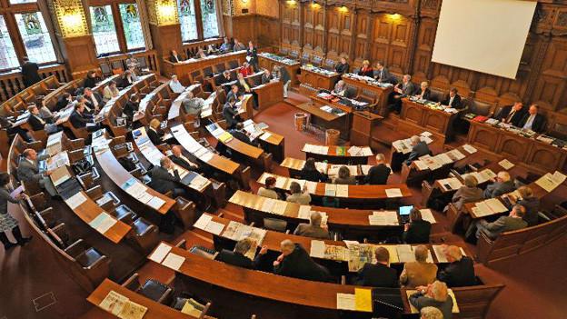 Der neue Grosse Rat scheint sich über Verteilung der Kommissionssitze gütlich zu einigen.