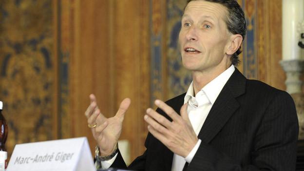 Bis im Sommer übernimmt Marc-André Giger die Leitung der Baselbieter Wirtschaftsoffensive.