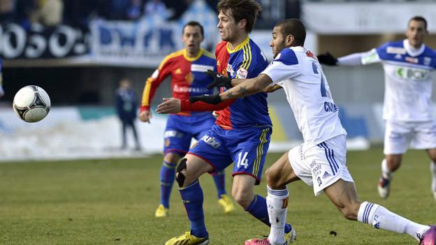 Valentin Stocker schoss für den FCB das 1:0