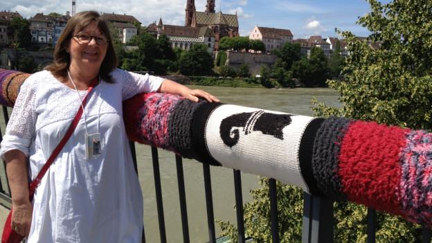 Hätte sich nie gedacht, dass ihre Idee die Fasnacht dermassen inspiriert: Kathrin Stalder