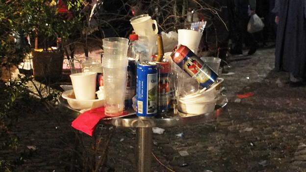 Mit dem Alkoholkonsum steigt die Gewaltbereitschaft