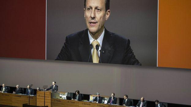 Daniel Vasella an seiner letzten Generalversammlung