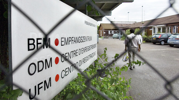 Empfangszentrum in Basel