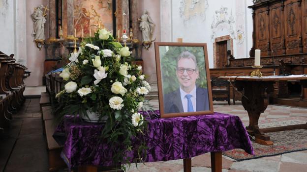 Trauerfeier für Peter Zwick im Dom von Arlesheim.