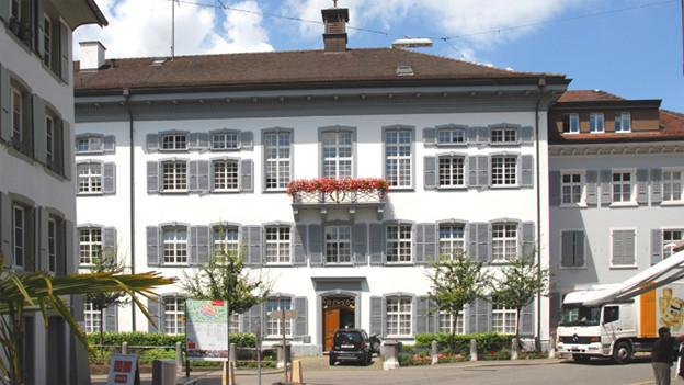 Das Regierungsgebäude in Liestal