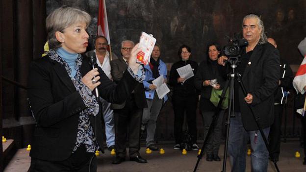 Brigitte Hollinger interessiert sich für das SP-Präsidium.
