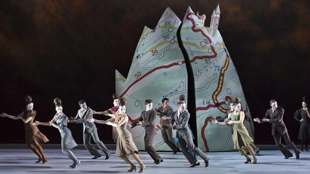 Premiere auf der Grossen Bühne: Cinderella.