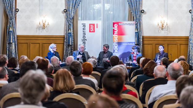 Engagierte Diskussion: Stadtgespräch des Regionaljournals
