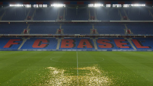 Im Stadion St. Jakob-Park übernimmt der FC Basel die Vermarktung