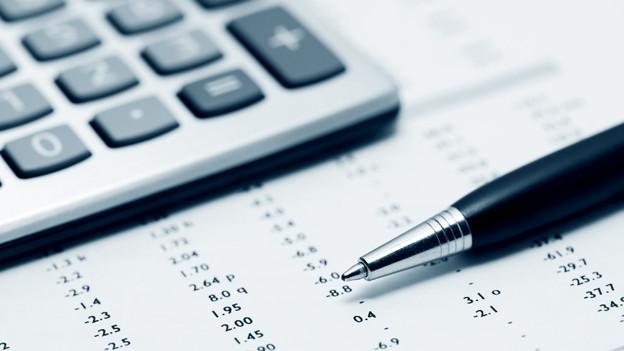 Baselbieter Rechnung mit Minus