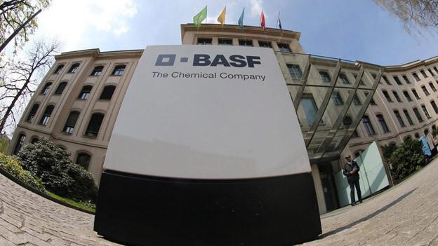 Der BASF Sitz in Basel