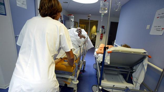 Von der Ventilklausel betroffen: Spitalpersonal.