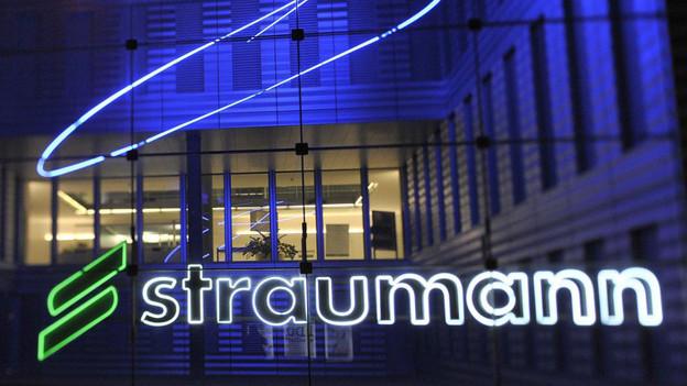 Straumann-Hauptsitz in Basel