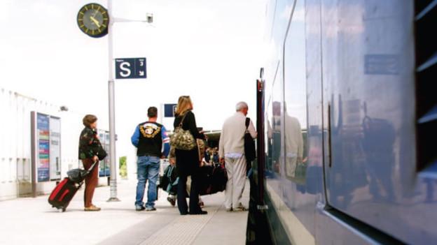Mit dem Zug zum Flug: Zukunft auf dem EAP