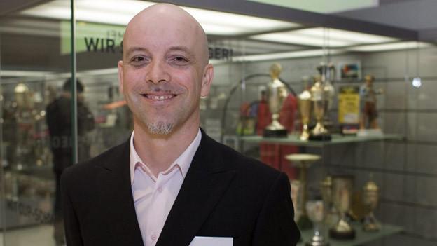 Sportmuseums-Leiter Gregor Dill.