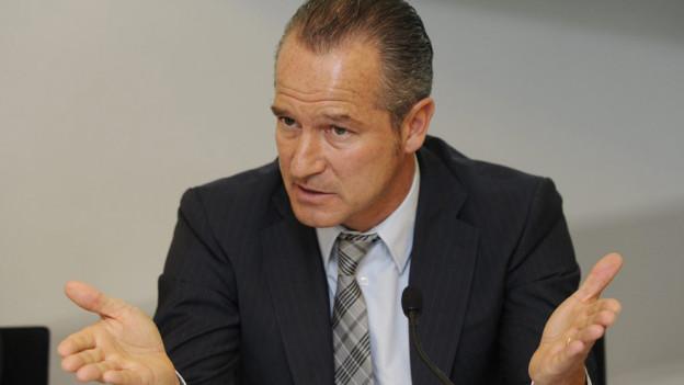 Nimmt Stellung zum Abbau: Straumann-CEO Marco Gadola