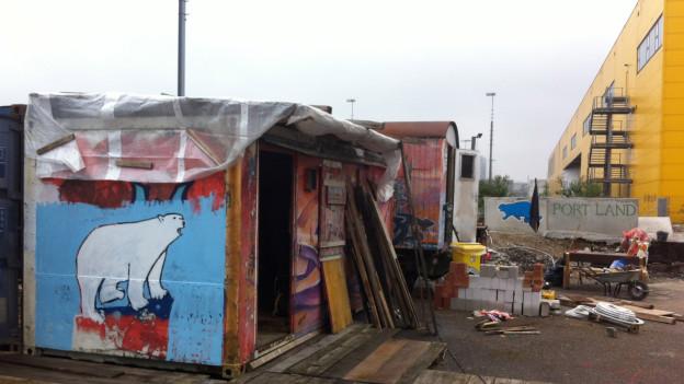 Zwischennutzungsprojekte im Basler Hafen