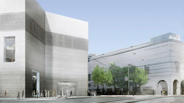 Kunstmuseum schliesst ein Jahr wegen Erweiterungsbau und Sanierung