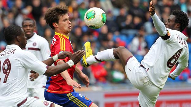 Valentin Stocker ist Mann des Spiels gegen Servette.