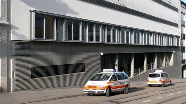 Das Basler Untersuchungsgefängnis Waaghof.