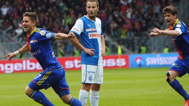 In der 71. Minute brachte Markus Steinhöfer den FCB in Führung.