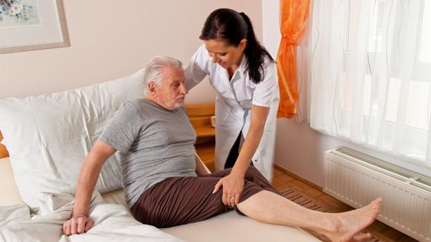 Alterspflege - ein wichtiger Teil der Gemeinnützigkeit