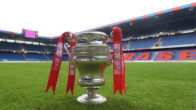 Ansicht des Cuppokals