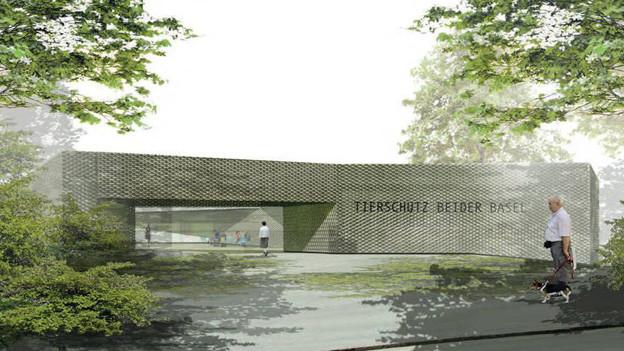 Projekt Tierheim beider Basel: Die Spendengelder reichen nicht für den Bau.