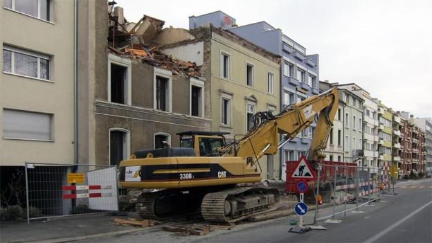 Abriss und Neubau von Wohnungen: Der Grosse Rat berät Wohnbauförderung