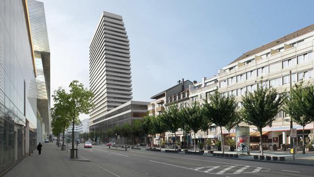 Der 29-stöckige «Claraturm» kann gebaut werden