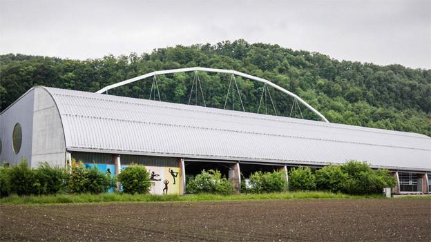 Mit einer Trägerkonstruktion könnte das Dach gesichert werden.