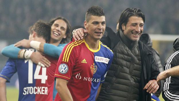 Sommer, Stocker, Dragovic: Ob sie bei Saisnonstart noch beim FCB sind, ist ungewiss.