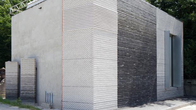 Modellhaus des Erweiterungsbaus