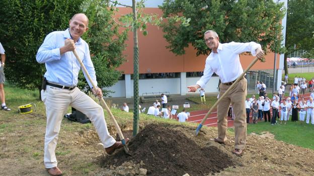 Regierungsräte Lauber und Weber