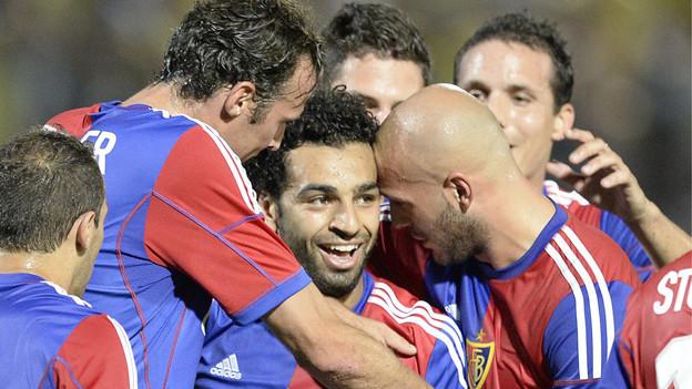 Mohamed Salah im Glück