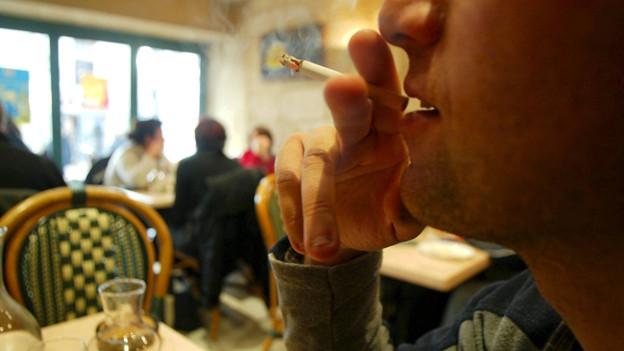Raucher in Beiz