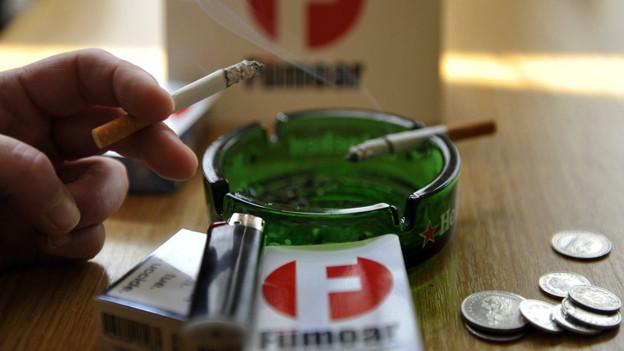 Fümoar-Beiz vor dem Rauchverbot