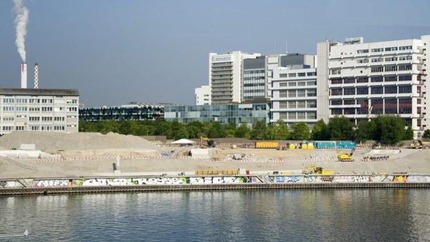 Hier soll der Rheinuferweg dereinst gebaut werden.