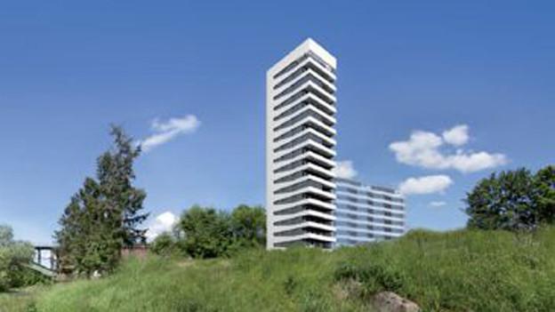 Der geplante Wohnturm «Weitblick» in Lörrach