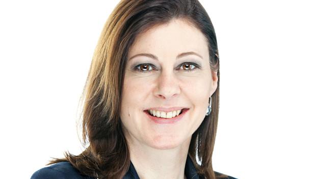 Doppelrolle: FDP-Präsidentin Christine Frey.