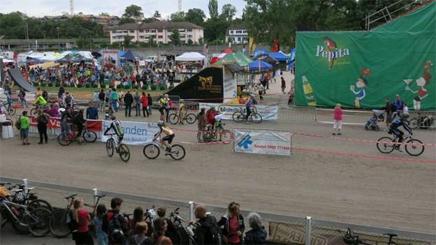 Viele Fans trotzten dem Regen am Bike-Festival Basel