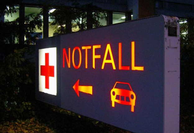 Der Notfall im Basler Unispital